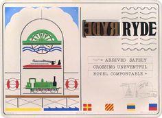 Holiday Postcard Series 3: Ryde