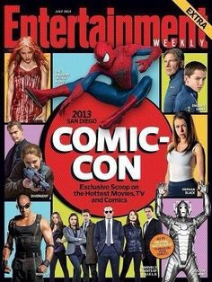 Two(!) BBC America shows have made it to the cover of Orphan Black and Doctor Who on EW's Comic-Con preview issue. Consider us humbled and proud.