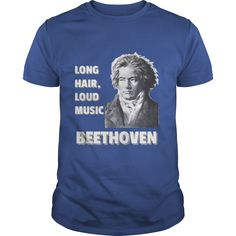 A great new design for classical music lovers, featuring Ludwig van Beethoven.  The graphics for this shirt come from a drawing done by C.F.K. Klober from 1818.