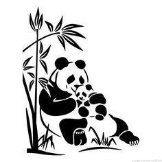 dessins pandas rigolos - Recherche Google
