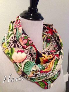 Gorgeous MultiColored Floral Paisley by hautethreadsboutique, $13.50