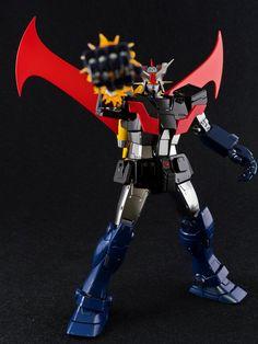 GUNDAM GUY: MG 1/100 Gundam The ORIGIN x MAZINGER - Custom Build