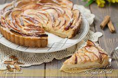 Crostata di mele e crema pasticcera ricetta facile