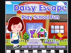 Daisy Escape Play school fun and ready her to go school - girls game