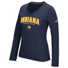 Indiana Pacers Womens Adidas Double Arch Tee - NWT - MSRP  35 be264d3037acd