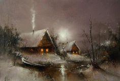 Moonlight sonata in Igor Medvedev's paintings - Viola.bz