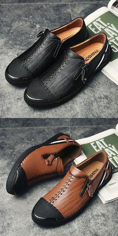 ee691c69a922df  gt  gt  Click to Buy  lt  lt  Prelesty Men Shoes Casual Genuine