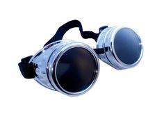 Cyber Goggles Steampunk Welding Goth Cosplay Vintage Goggles Rustic CYBER GOGGLES STEAMPUNK WELDING GOTH COSPLAY VINTAGE GOGGLES RUSTIC Colours: Black, Sliver, Copper, Brass Comes with elastic band for perfect fitting, and eyelets on the sides for extra comfort. $14.98