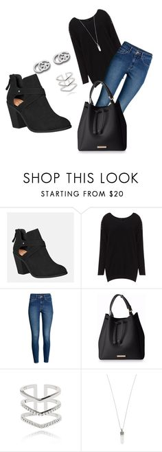 """""""black"""" by magda-afifi on Polyvore featuring Avenue, H&M, Astrid & Miyu, Marc Jacobs and Gucci"""