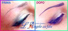 Trucco #Tatuato effettuato dalle nostre Fate!  Per saperne di più sul Trucco Semipermanente: http://www.langolodellefate.it/angolo-delle-fate-centro-estetico/trucco-semipermanente-extension-ciglia/  #sopracciglia#truccosemipermanente#tatuaggio#makeup#trucco