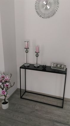 Nowoczesna konsola   modern table Entryway Tables, Furniture, Home Decor, Decoration Home, Room Decor, Home Furnishings, Home Interior Design, Home Decoration, Entry Tables