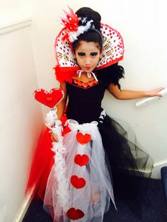 My DIY Queen of Hearts Costume. Under $20.00  sc 1 st  Pinterest & Queen of Hearts tutu dress-Queen of hearts costume-Alice in ...