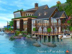 Isara Paradise medium house by Autaki - Sims 3 Downloads CC Caboodle