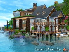 Isara Paradise medium house by Autaki - Sims 3 Downloads CC Caboodle