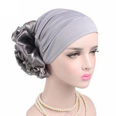 Braid Maintenance Hospitable Gray 2016 New Womens Bonnet Head Cover Up Hijab Cap Under Scarf Cotton Hottest