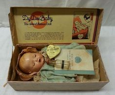Effanbee Dy Dee Baby Doll W/Box and Clothes - copyright 1934