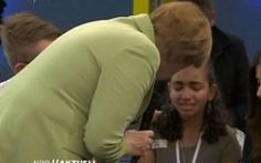 Teenage asylum seeker who confronted Merkel allowed to stay in Germany German chancellor had said 'Politics is sometimes hard' after Palestinian teenager burst into tears over deportation fears during televised debate - video Philosophy For Children, Interview, Criminal Record, Civil Disobedience, Math Literacy, Teacher Blogs, Asylum, Worlds Of Fun, The Guardian