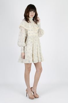 70s gunne sax dress lace wedding dress off the. Black Bedroom Furniture Sets. Home Design Ideas