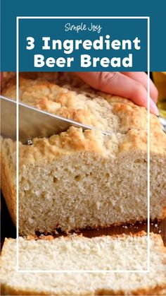 Beer Bread Recipes, Dump Cake Recipes, Quick Bread Recipes, Bread Machine Recipes, Baking Recipes, Biscuit Bread, Cooking Bread, Ac Units, Bread Making