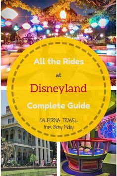 """Pictures and Secrets: Everything you wanted to know about the rides at Disneyland, including insider tips and when to say """"cheese"""" for your picture"""