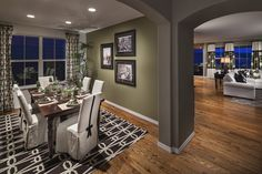 Preston Dining Room by Lennar