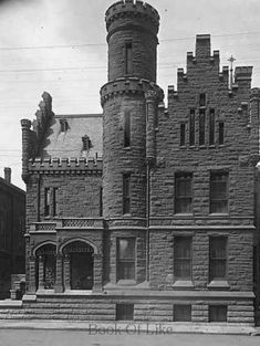 The Old Historic Vanderburgh County Jail of Evansville, Indiana ~ Resembles Reid Castle, I think.