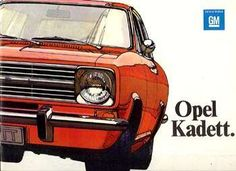 My first new car was a 1966 red Opel Kadett with black interior.  I drove it from MA to CA to see the U.S.