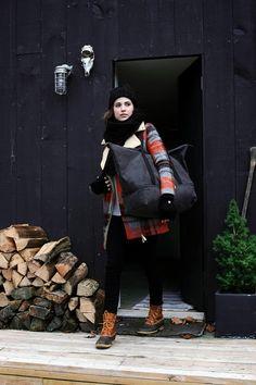 travel style - winter cabin weekend