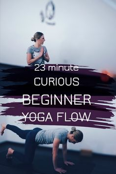A curious beginner yoga flow to move your body in new ways - yoga video on sweat and yoga