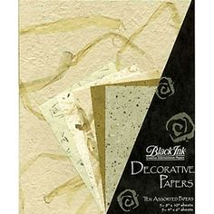 """These collage packs are hand-selected to ensure the papers are perfect compliments to each other for use in all paper crafts including collage, papermaking, scrapbooking, note cards, and stationary.  Each pack contains 5 sheets of 8"""" x 10"""" specialty paper including mulberry, unryu, banana, mango and more.  Also includes 5 sheets of matching 4"""" x 6"""" paper.  Some pieces include inclusions such as tamarind leaves or banana bark."""