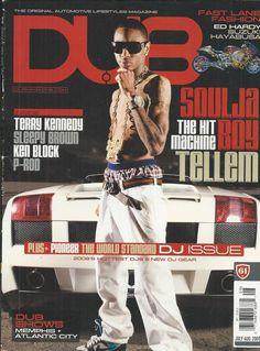 Dub magazine Soulja Boy P-Rod Terry Kennedy Sleepy Brown Ken Block Ed Hardy