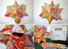 Kid Giddy aka Kerry Goulder: Sewing Patterns, Crafts, DIY, Photography, Recipes and more: Busy Monday: AccuQuilt GO! Modular Star Tutorial & Giveaway!