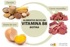 alimentos que tienen vitamina b8