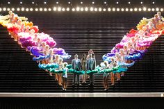 Das Rheingold, Opera Melbourne Ring Cycle 2013 h. Photo by Jeff Busby Stage Design, Set Design, Rainbow Bridge, Stunningly Beautiful, War Paint, Great Love, Melbourne, Opera, Rose