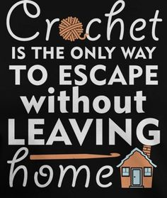 I'd argue that reading is more of an escape.... but I like this :)