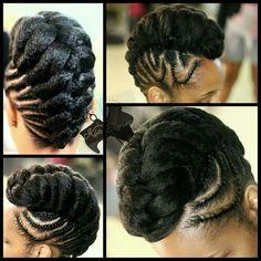 Hair Braid Styles for Summer Natural Hair Braids, Long Natural Hair, Braids For Black Hair, Natural Updo, Au Natural, Long Hair, African Braids Hairstyles, Twist Hairstyles, Natural Hairstyles