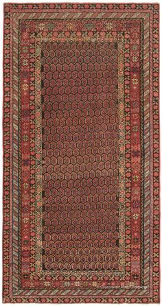 Dazzling Antique Kurdish area size Rug with allover Boteh Seeds of life Design on an abrash reserve Antique Rug - Claremont Rug Company Persian Carpet, Persian Rug, Asian Rugs, Persian Culture, Rug Company, Textiles, Woven Rug, Tribal Rug, Rugs Online