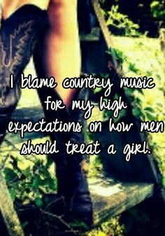 I dont just blame my music my family and friends too