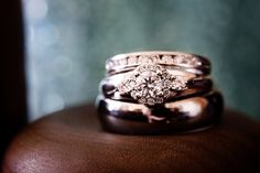 Her ring was stunning. A perfect diamond, chosen with love. The ring-box, lovingly crafted by her father.   Taken at the Metterra on Whyte in Edmonton, Alberta by wedding photographer Amanda Schulz of ACS Studios.