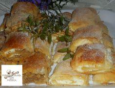 Káposztás és túrós rétes Recept képpel - Mindmegette.hu - Receptek French Toast, Bread, Chicken, Breakfast, Recipes, Food, Drinks, Morning Coffee, Drinking
