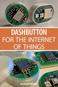 DIY Dashbutton for the Internet of Things Use a homemade dashbutton to control any smart home devices such as lights or temperature. A fun Internet of Things project. Electronics Projects, Electronics Storage, Electronics Gadgets, Electrical Projects, Electronics Components, Pi Projects, Arduino Projects, Electronic Shop, Electronic Gifts