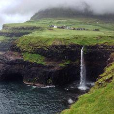 """Speechless. #faroeislands #nordobs #nordicobsessiontours"""