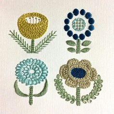 Olympus Sashiko Fabric - Sashiko Placemat Kit # 166 - Seven Treasures - Navy - Japanese Embroidery - Embroidery Design Guide Sashiko Embroidery, Paper Embroidery, Japanese Embroidery, Embroidery Stitches, Machine Embroidery, Handkerchief Embroidery, Embroidery Books, Embroidery Tattoo, Embroidery Designs