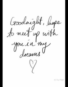 Good night beautiful!!! Sleep well and sweetest of dreams!  I will see you in my dreams tonight, as I do every night!  Talk soon and LAB!!!!