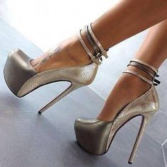 5da1c68f80da Square Head Three Buckles Belt Sweet Club Sandals  Platformhighheels Super  High Heels