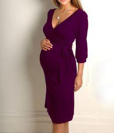 NEU elegant Umstandskleid Umstandsmode Schwangerschaft 6 Farben S/M oder L/XL | eBay