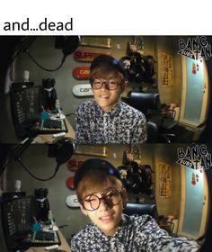 HE WAS JUST 18 YEARS OLD HERE WTF DHDUXUXUJSJ STOB IT  #BTS #Kimtaehyung #BTSV #btsmemes #btsfunny