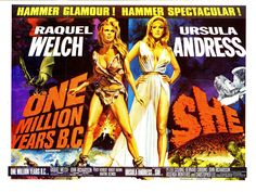 Hammer Films Movie Posters | in movie posters tagged cavewoman hammer films hammer glamour hammer ...