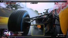 Red Bull front wing vortex (Brazil 2013)