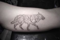 Elegant Geometric Tattoos -10